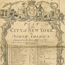 Old Map New York City by New York 1776 Ratzer Map Brooklyn Battlemaps Us