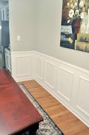 How To Wainscoting Doing This In The Dining Room For The Home - Dining rooms with wainscoting