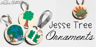lds jesse tree christmas advent ornaments