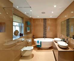 bathroom recessed lighting design with modern and vanity solutions