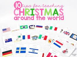 tips for teaching christmas around the world