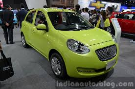 opel thailand nissan march micra limited edition showcased in thailand