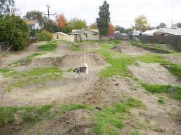 Back Yard Track Build Page - Backyard motocross track designs