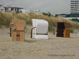 Beach Basket A German Strandkorb Relaxing In A Beach Basket