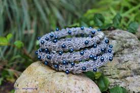 crochet jewelry bracelet images What you need to know when crocheting with wire and beads jpg