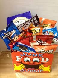 junk food basket 13 best junk food gift images on junk food food
