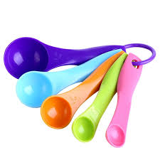 5pcs colorful measuring spoons set kitchen tool utensils