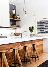 black white and kitchen ideas best 25 white wood kitchens ideas on contemporary