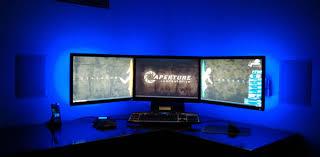 pc bureau avec ecran un pc avec trois écran pourquoi faire comment faire tech