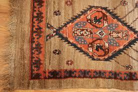 Corner Runner Rug Breathtaking Camel Hair Bakshaish Rug 49277 By Nazmiyal
