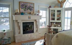 decorating ideas nice modern firemantel design using white mantel