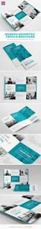 modern geometric trifold brochure brochure template brochures