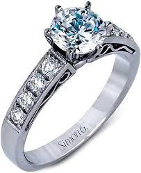 simon g engagement rings simon g pave engagement ring lp1072