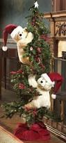 Polar Bear Decorations For Christmas by Teddy Bears Climbing A Christmas Tree Christmas Pinterest