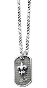 baby dog tags king baby studios 925 sterling silver dog tag pendant 2 41 1g