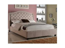 Addison Bedroom Furniture by Crown Mark Addison Upholstered Queen Bed With Tufted Headboard