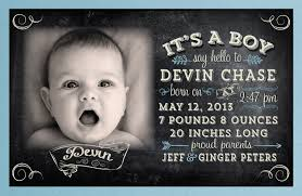 vintage baby boy birth announcement di 6013 harrison