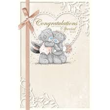 congratulations on your wedding cards me to you wedding cards groom husband congratulation