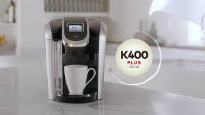 Keurig Descale Light Keurig K400 Series Coffee Maker Features Plus Series Keurig
