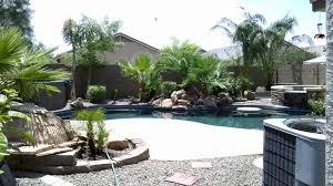 Arizona Landscape Ideas by Arizona Backyard Landscape Design With Pool Yelp