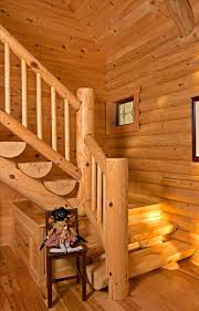 cabin home tours master bedroom lofts and logs