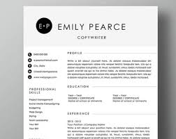 1 page resume template professional resume template 2 page resume 1 page cover