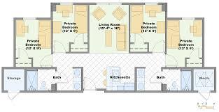 white house private residence floor plan