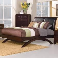 shop homelegance astrid espresso platform bed at lowes com