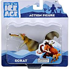 ice age continental drift scrat action figure walmart