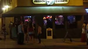 nightlife in downtown dayton in the oregon district on a saturday