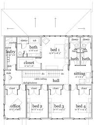 5 bedroom one house plans floor plan around bath plan house one floor farmhouse depth