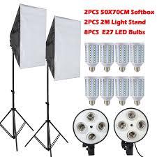 led lights for photography studio ashanks led soft box with light stand softbox set for photo studio