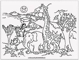 zoo coloring with page animals pages free printable in ffftp net