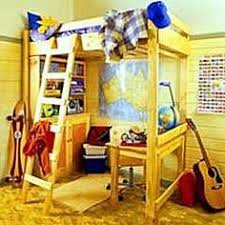 Free Twin Xl Loft Bed Plans by University Loft Graduate Series Twin Xl Bunk Bed Natural Finish