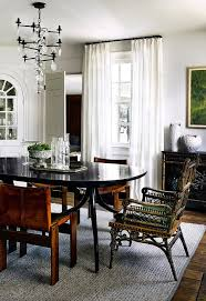 Asian Inspired Dining Room Black Buffet Table Dining Room Modern With Glass Dining Table