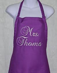 personalized aprons a gift to treasure