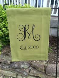 Lsu Garden Flag Monogram Garden Flags Etsy Home Outdoor Decoration