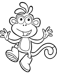dora explorer stars coloring pages dora explorer