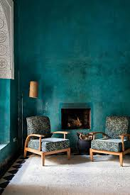 Blue And Green Bathroom House Decor Pinterest by Dramatic Teal Walls Via Elle Decor Sfgirlbybay Love The Color