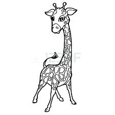 imagenes de jirafas bebes animadas para colorear pagina para colorear jirafa para para para dibujos para pintar