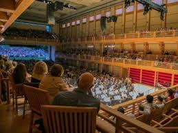 boston pops table seating green music center garners reputation as world class concert hall