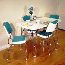 kitchen mid century kitchen table sleek stainless steel legs stone