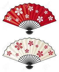 japanese folding fan fan royalty free cliparts vectors and stock