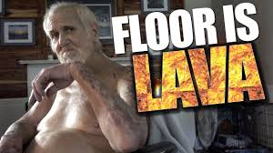 The Challenge Kidbehindacamera The Floor Is Lava Challenge