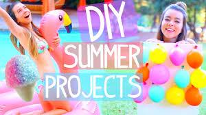 diy summer projects room decor activities food u0026 more youtube