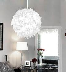 Led Bedroom White Round Ceiling - feather ceiling lamp price comparison buy cheapest feather