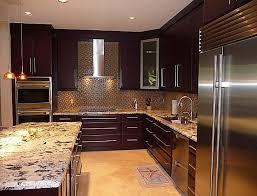 solid wood kitchen cabinets miami pleasure in the kitchen cabinets miami darkbrown kitchen