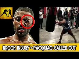 Manny Pacquiao Meme - kell brook injury update and manny pacquiao called out training