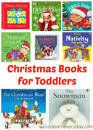 christmas books for toddlers play and learn every day