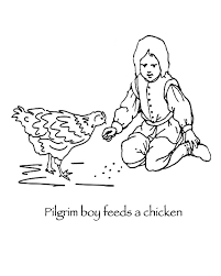 pilgrim boy book manyhoops coloring page